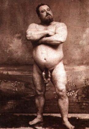 Louis Cyr-nude